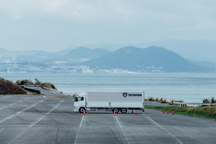 【フォトレポート】スカニアジャパンが新製品先行内覧会・試乗会を淡路夢舞台・国際会議場にて実施