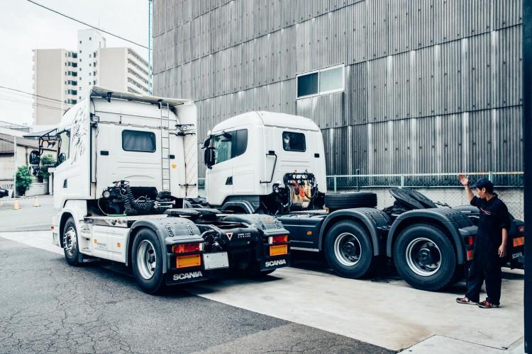 西日本エリアの重要なSCANIAサービス拠点、大阪中央ディーラー