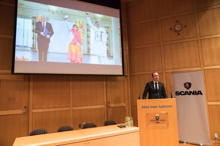 SCANIAとノーベル賞の関係を紐解く、「ノーベル・プライズ・ダイアログ東京 2017プレイベント」をレポート