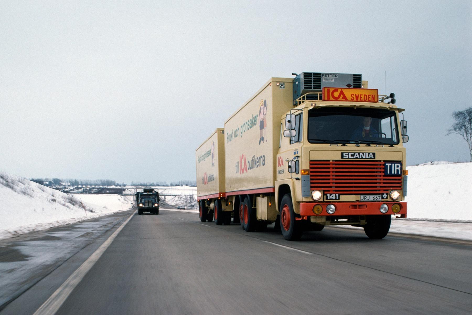 革新の文化を継続してきた「スカニアトラック117年の歴史」VOL.02 〜戦後から1970年代まで〜