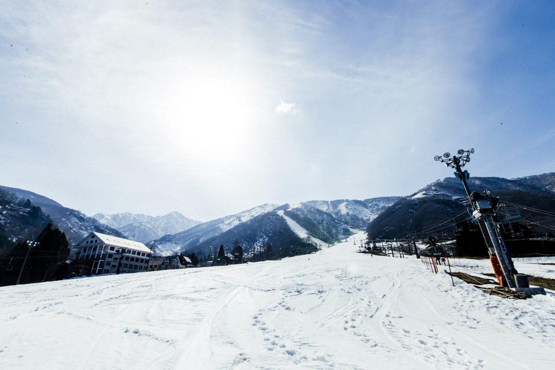 白馬・五竜スキー場にスカニア×大原鉄工所の圧雪車「RIZIN」の活躍を追う
