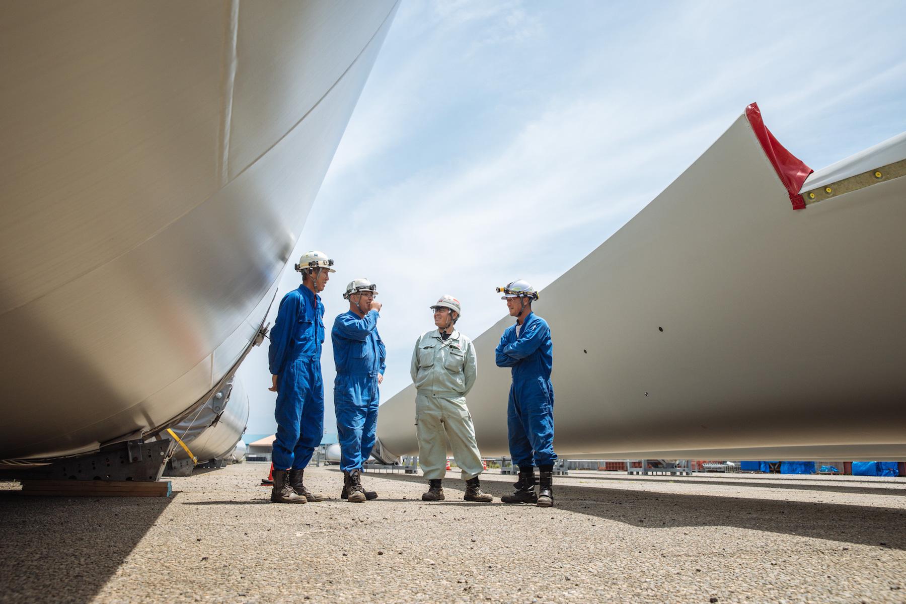 風力発電用風車の巨大な部材を運ぶスカニアを追う 〜株式会社ミック様〜