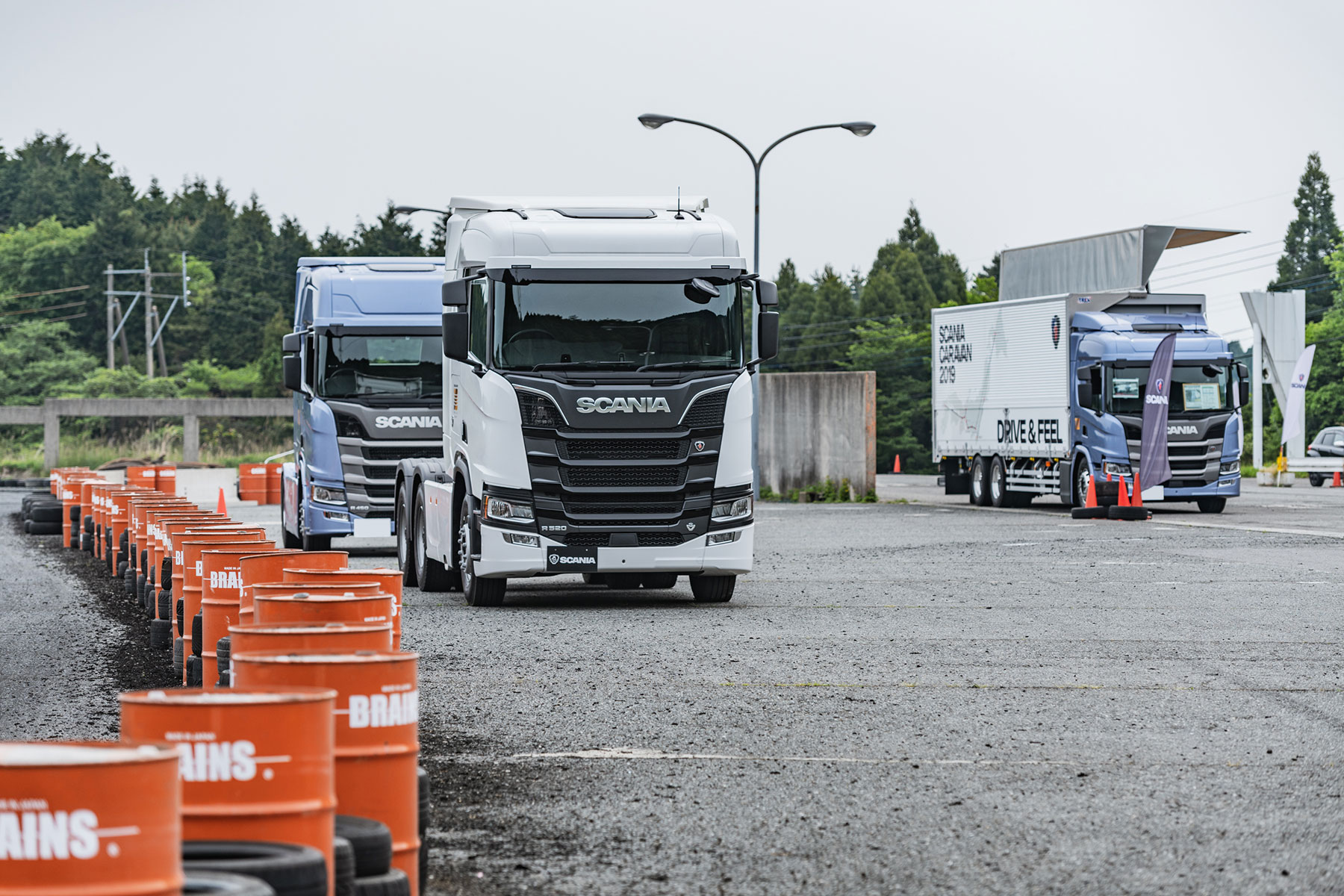 全国11ヶ所を巡るスカニア試乗会イベント「Scania Caravan 2019」、皮切りとなった第1回佐賀での模様をレポート