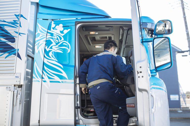SCANIAはドライバーのモチベーションの源 〜株式会社ロジックスライン様〜