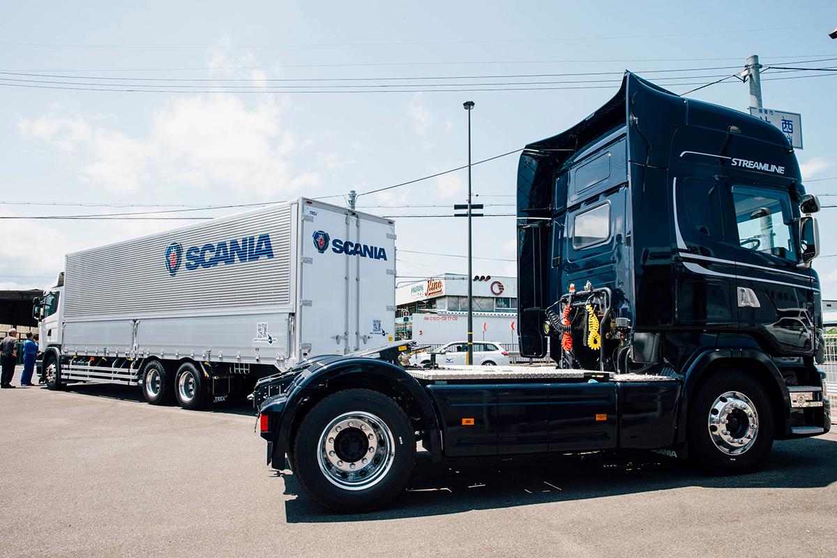SCANIAのセールスマンにフォーカスして見えた、スカニアの魅力とユーザーとの絆 〜株式会社マルニ様、ミカド輸送株式会社様〜