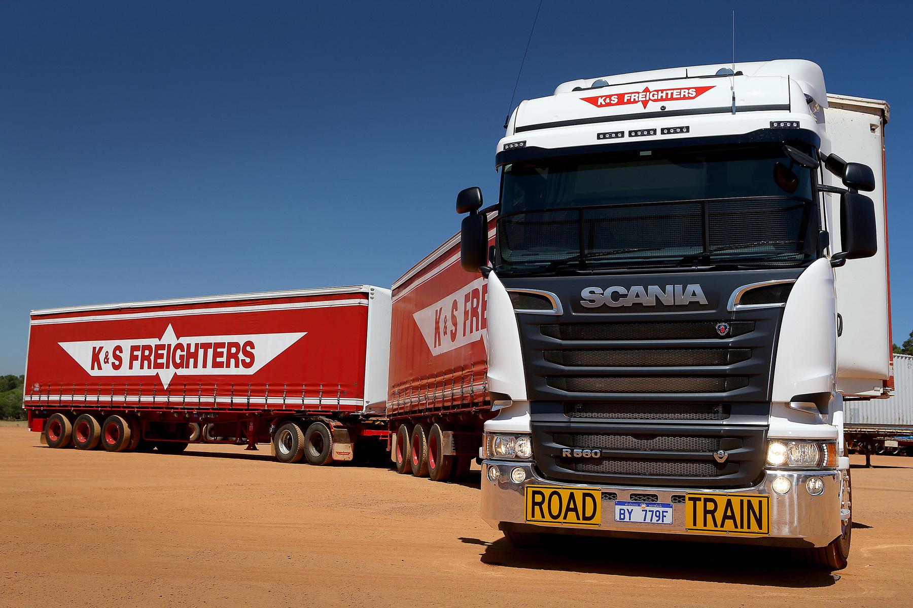 オーストラリアのロードトレインで使用される、2013年以降のスタイルを持ったR560