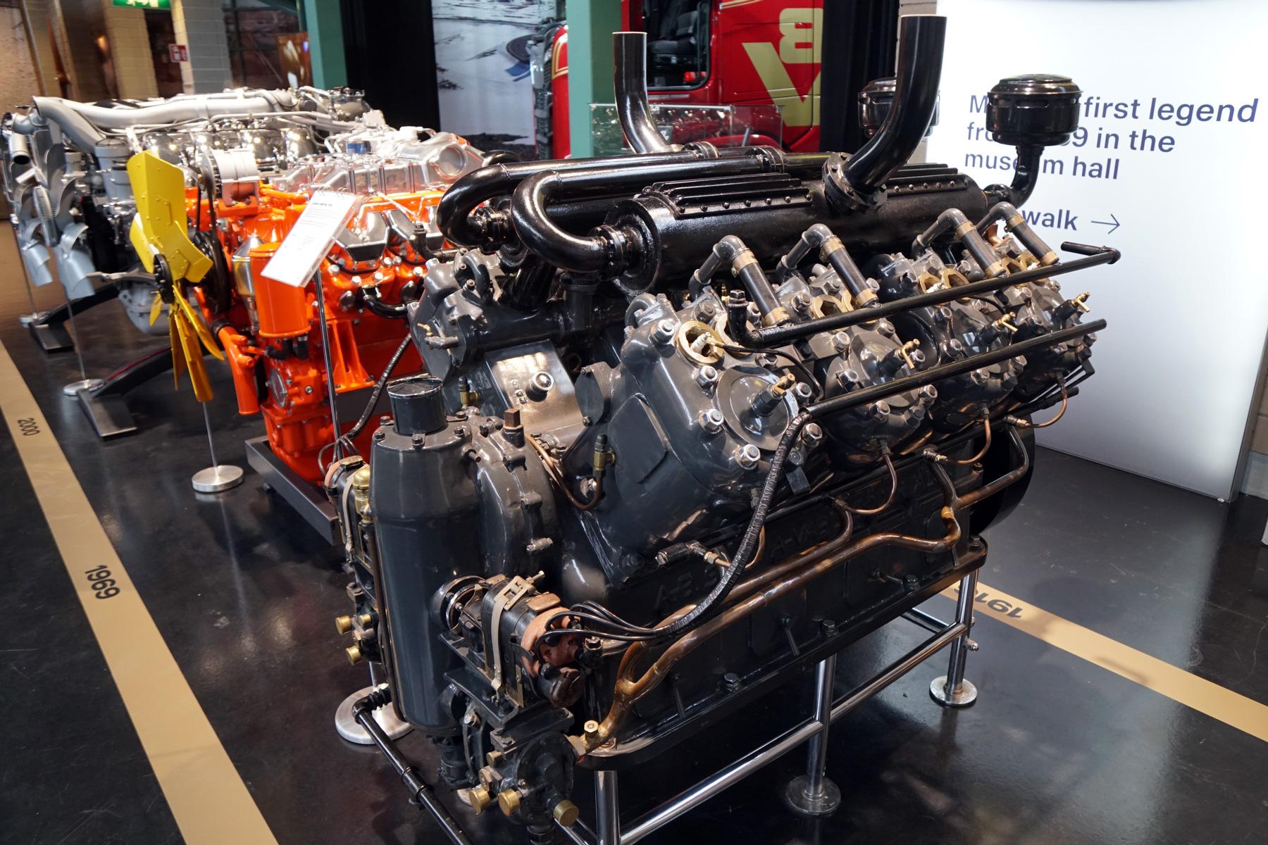 このV8エンジンは、スカニア・ヴァビスの船舶部門が1916年に開発したもの